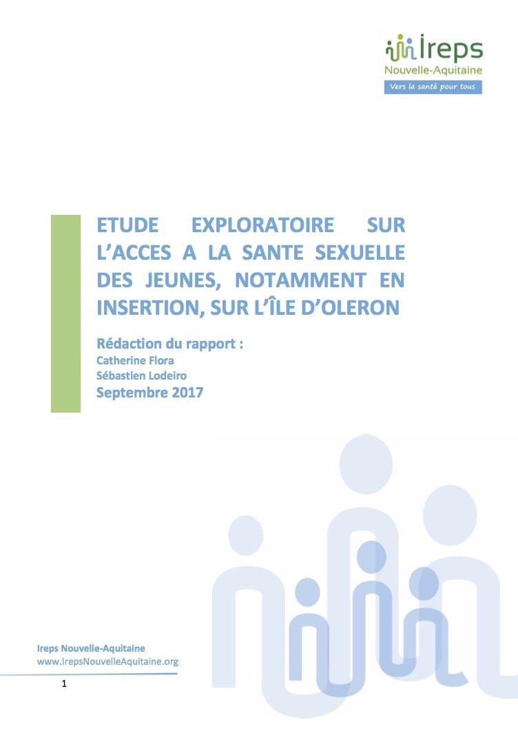 CF.Rapport santé sexuelle des jeunes d'Oléron-VF